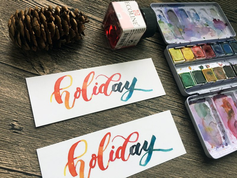 My holiday! Holiday bookmark card fabric surface bookmark