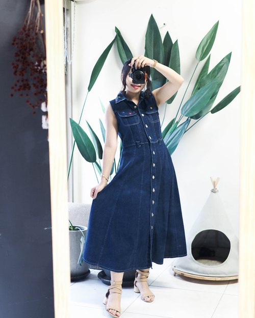 River Water Mountain - Nara Star Sparkle Spring/Summer Night Sky Antique Tandem Sling Dresses overalls