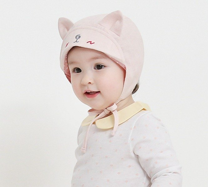 Happy Prince Shana Baby Cool Linen Blend Sun Hat Made in Korea