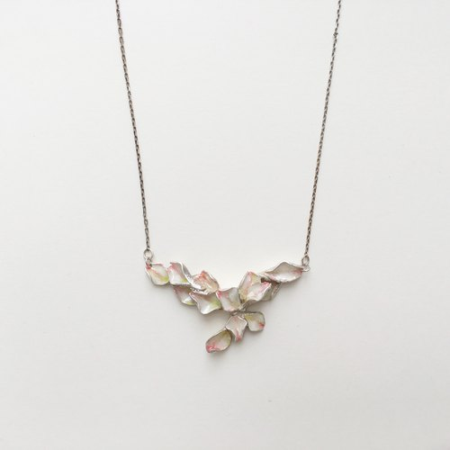 Cherry Blossom Art Necklace