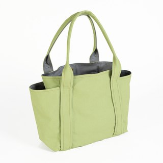 Magnetic button / universal tool bag - apple green (medium)