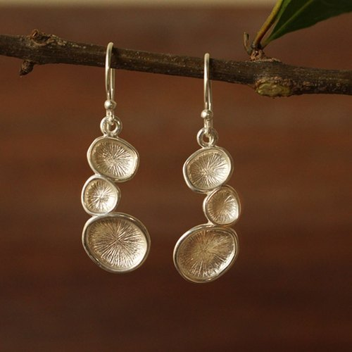 Flourish - Silver Earrings / Sterling Silver / Earrings