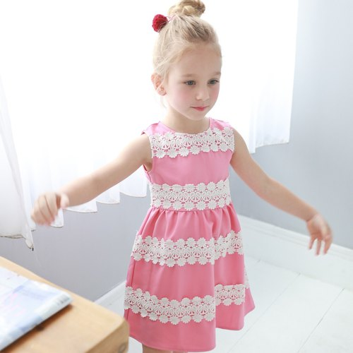 Elegant embroidered dress (infant/toddler/girl)