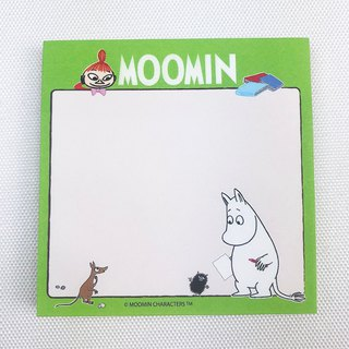 Moomin 噜噜米 authorization - post-it notes