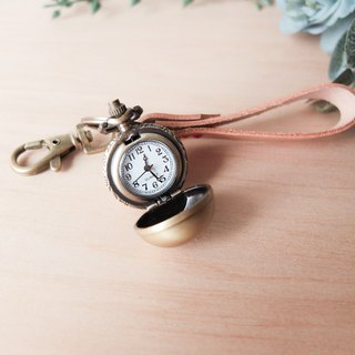 Customized key ring bell pocket watch