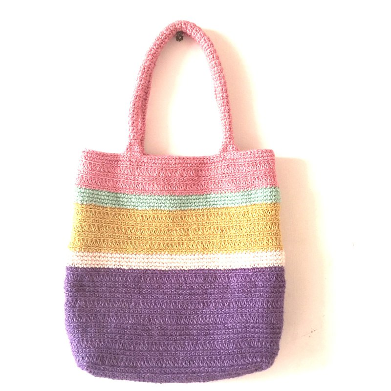 It may not be happy to remember the linen woven bag