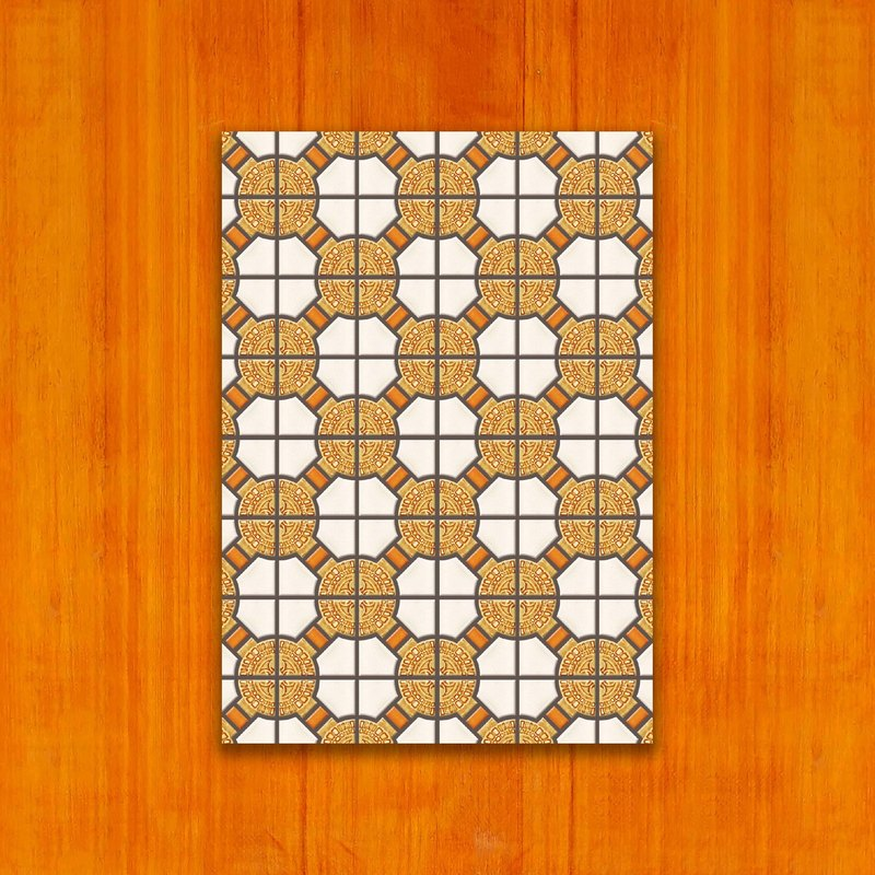 Old House - Classic Mosaic Tile Postcard – 22