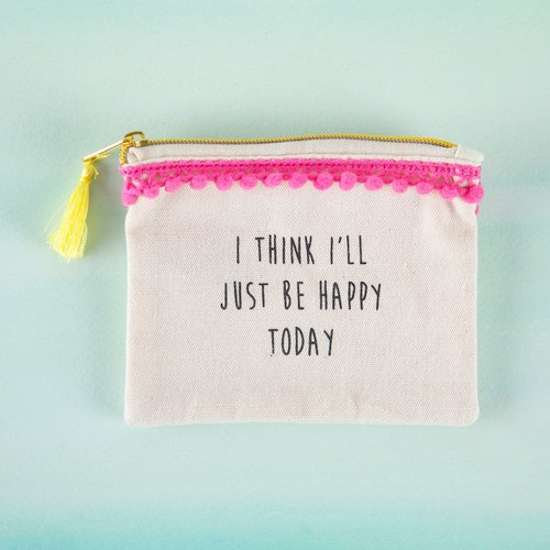 Text Purse - Happy Today∣CPRS126