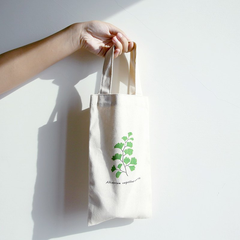 Botanist's Kettle Bag / Handmade Screen Printing