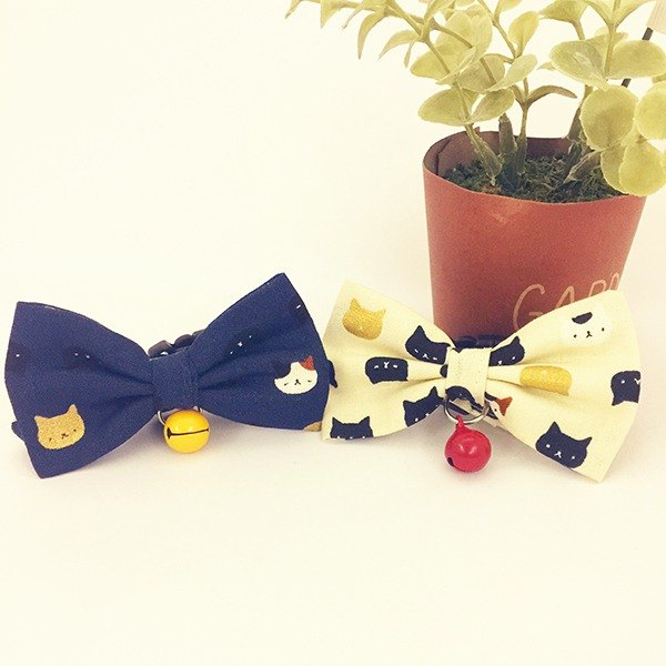 Cute Cat Kitty Mini Dog Small Dog Bow Decoration Collar