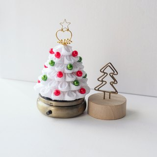 Little White Fabric Christmas Tree storage box custom