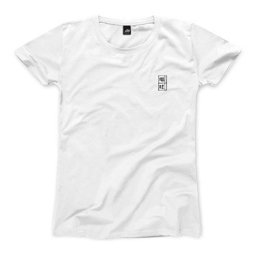 Small vomiting - black on white - Female T-Shirt