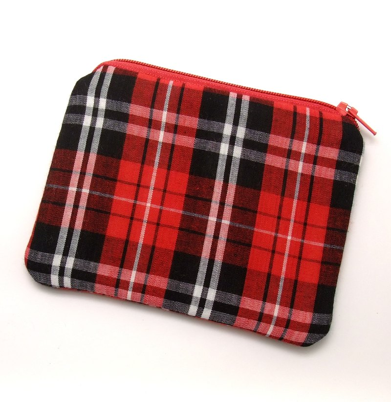 Zipper pouch / coin purse (padded) (ZS-192)