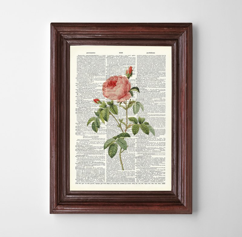 Floral print (6) Customizable posters