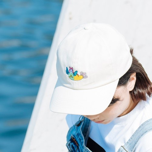 Instigator X Cervical Yen Mermaid Embroidery Hat
