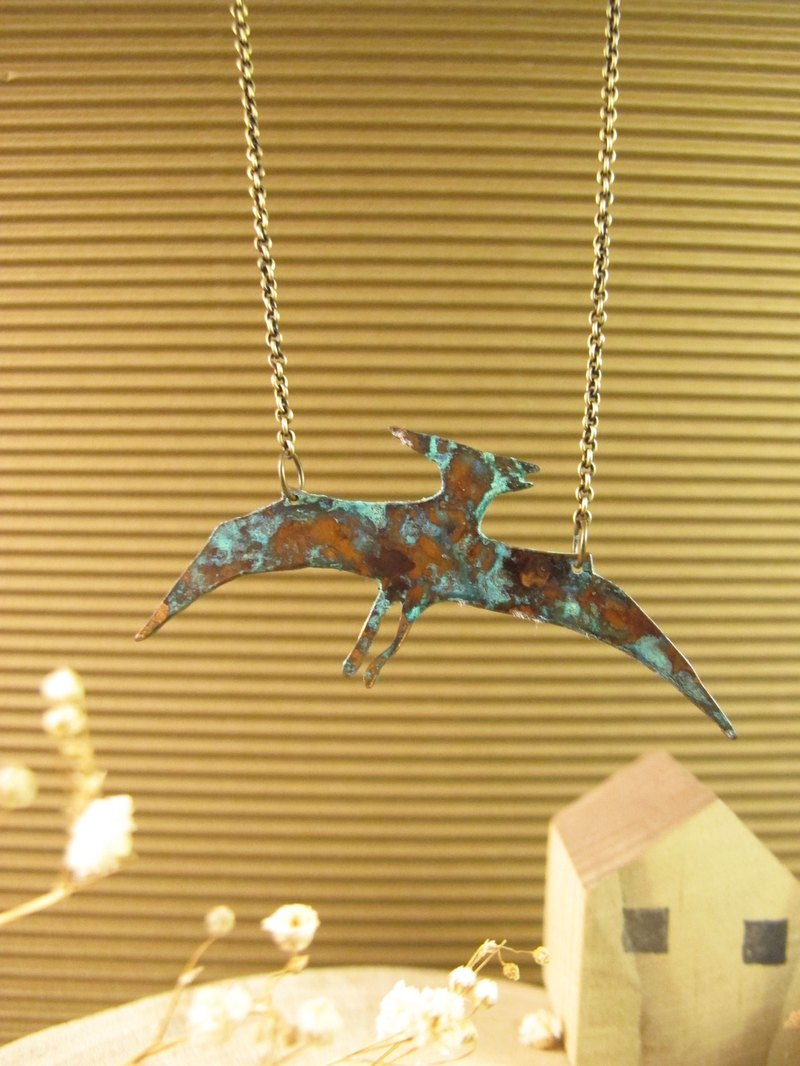 [Dinosaur friends - pterosaurs necklace]