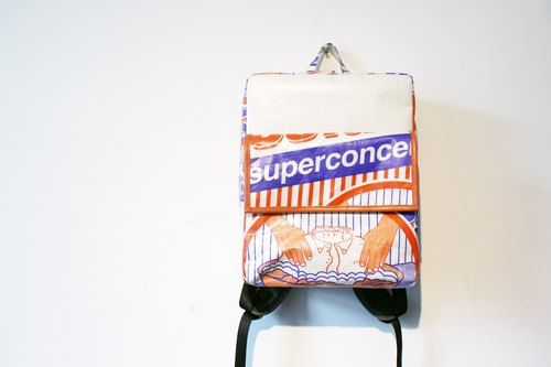 REMIX pick up with the new personality shoulder bag upcycled eco street fun