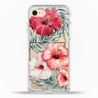 iPhone7/8/7Plus/8Plus Case Pinkish‭ ‬Flower Love Original Design Romantic Series TPU2.0+PC Side Protection