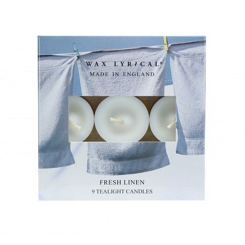 British candle MIE series fresh linen candle 9 in
