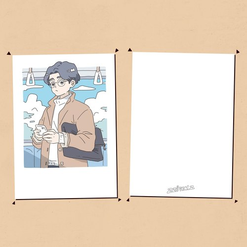 GOOD BOY Postcard - 002 ver