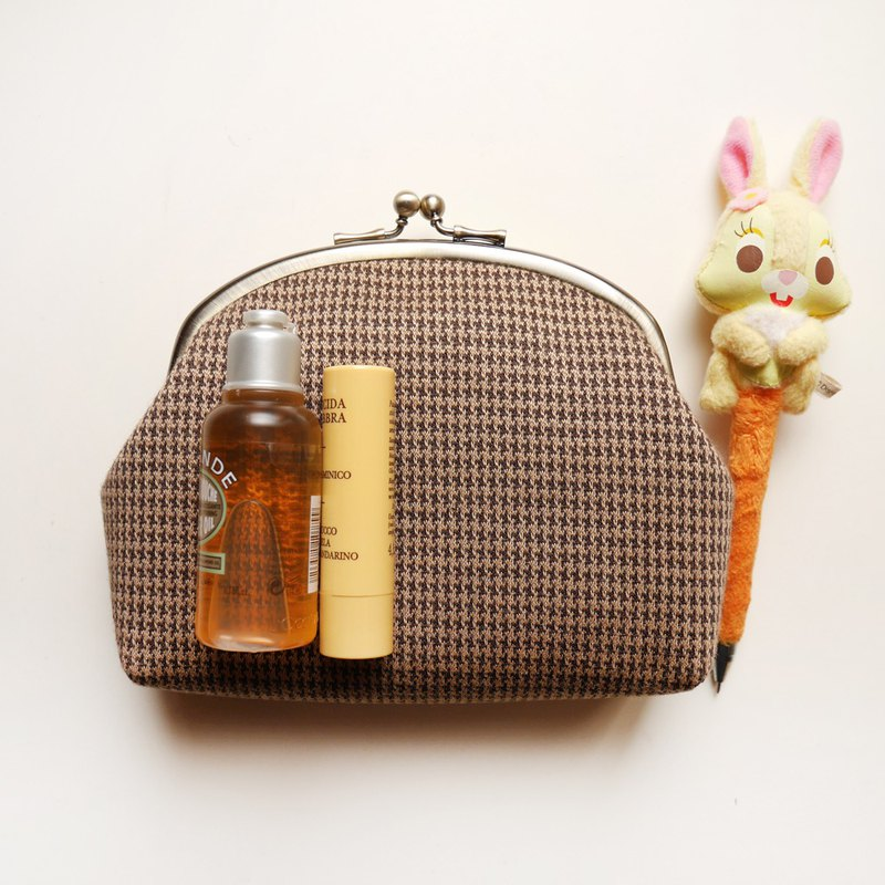 A Fei cosmetic bag / sundries bag / mouth gold bag [made in Taiwan]