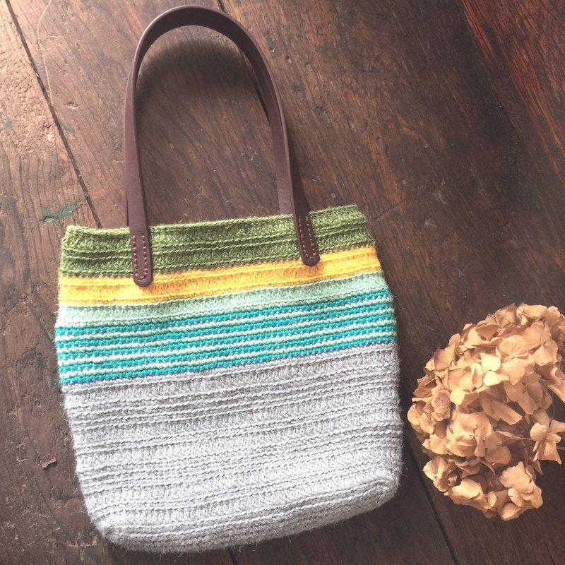 Love this thing weaving walking bag / twine / handbag / shopping bag
