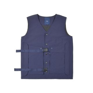 oqLiq - AdHeRe - Demolition pocket door tooling vest (blue)