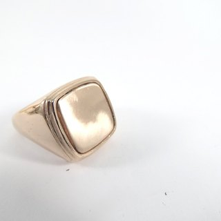 SQ ring pink gold by WABY