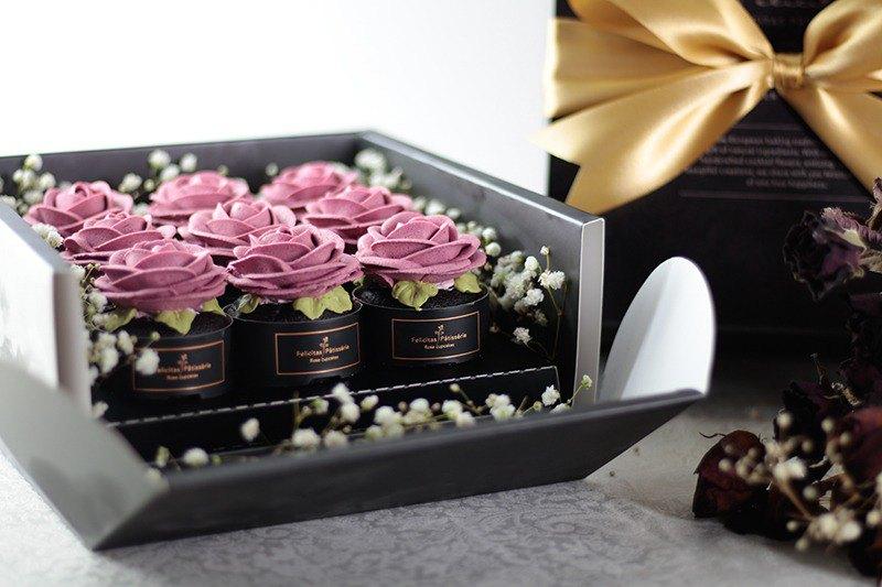 Felicitas Pâtissérie 紅色花禮-玫瑰花束禮盒