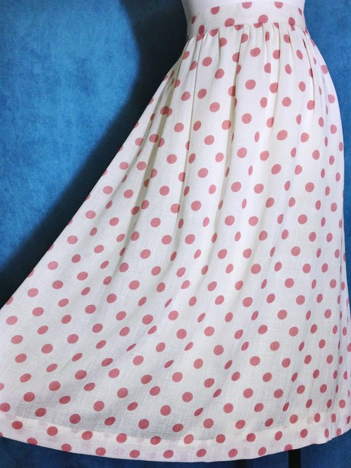 Ping pong ancient [ancient skirt / pink little skirt] foreign bring back VINTAGE