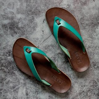 LANNY LANEY / Sky Blue Flip-Flops Slippers_Female