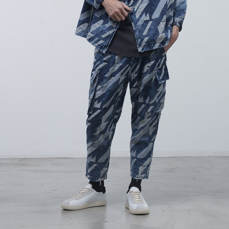 DYCTEAM - Twill Pattern Pants
