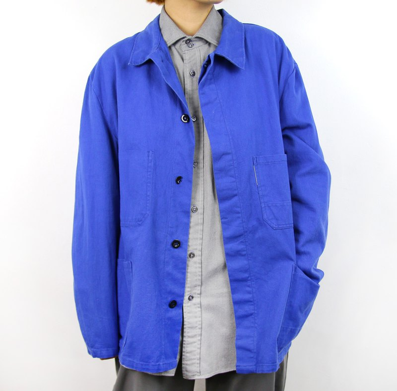 Back to Green::歐洲工裝 基本款//Workers Jacket Vintage
