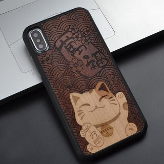 Iphone X Case Handmade Samsung S7 S8 plus Iphone X 8 7 6 Plus Wooden Phone C