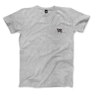 nice to MEAT you - Cattle - Deep Heather Grey - Unisex T-Shirt
