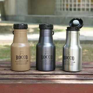 [DESTINO STYLE] Japan ROCCO OneTouch cover heat preservation / cold water bottle 350ml