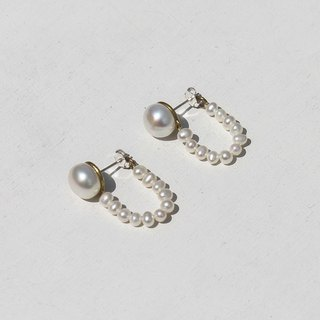 Swing Earrings - Sterling Silver Posts / Clip-on Earrings