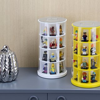 Cylindrical Acrylic Model Display Case