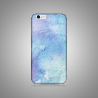 """Shell"" series - Blue Gradient Original mobile phone shell / protective sleeve (hard shell) iPhone / Samsung / HTC / Sony / LG"