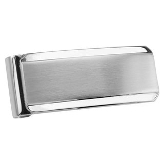 Stainless Steel Classic Two Tone Money Clips