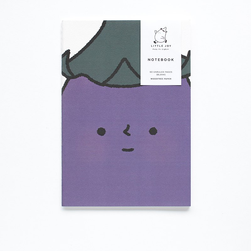 Unruled Notebook - Little Joy - The Face