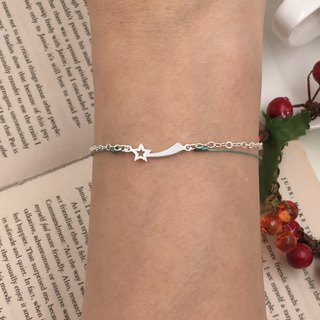 *Le Bonheur happy Line line*925 sterling silver bracelet vow meteor red meteor desire Christmas gift exchange (guest book section)