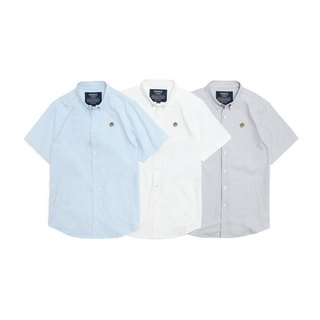 Filter017 Scout Badger Oxford Short Sleeve Shirt Scarlet Badger Oxford Short Sleeve Shirt