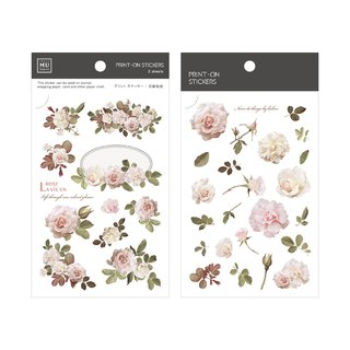 [Print-On Stickers]| Flowers Series 34-Classical Roses |