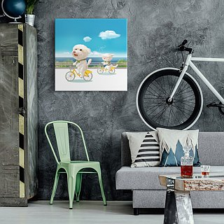 Wall Art/ Biking