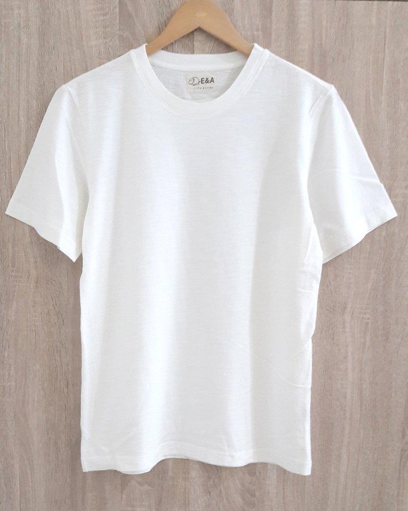 Blank plain white T-shirt (no fluorescent white) boys ...