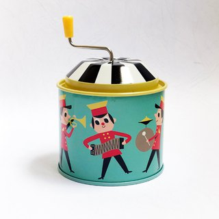 Music Tin BOX - Brass Band
