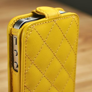 STORYLEATHER made (APPLE SAMSUNG HTC SONY LG) Style D3 PDA under the cover Ling Check leather case