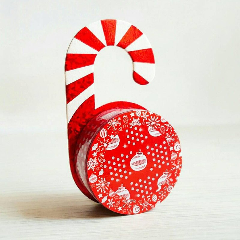 [Hoppy] Christmas paper tape X'mas-S Ornament / GTIN: 4713077971840