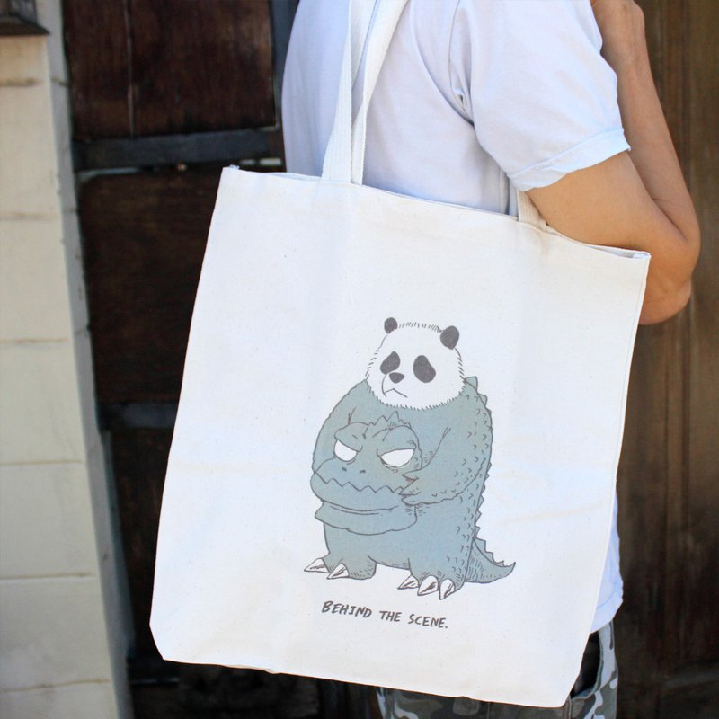 Tote bag: Switch Panda:Mascot 1